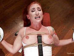 This slave can multitask while the master gets her off