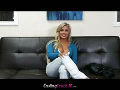 Cameron dee nailed on the casting couch