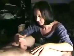 Great handjob from wifey