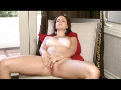 Horny maid masturbating