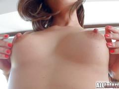 Allinternal anal creampie oozing from her freshly fucked ass