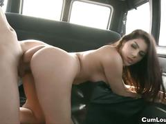 Valentina nappi gets cock in a moving van