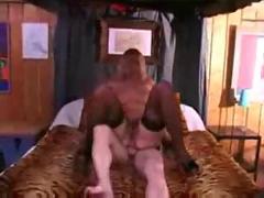 Giina vice ass fucked by two cocks