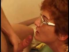 Horny hairy french mom ravaged by her 2 sons - roleplay...