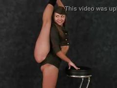 Beautiful flexible girl