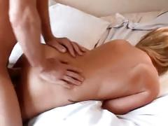 Massage turns into hard fuck