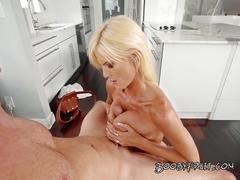 big boobs, blowjob, cumshot,