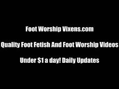 Sexy bitches foot worship compilation