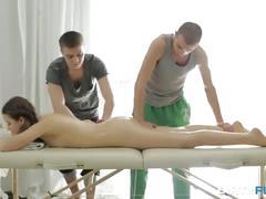 Dirty flix - double oil massage