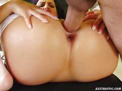 Ass traffic flexible claudia is anally fucked from every position