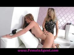 Femaleagent vision of beauty and her dripping wet pussy