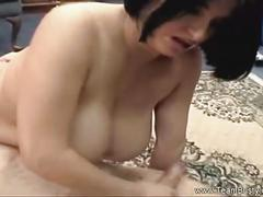 Busty helena gives awesome blowjob and titjob