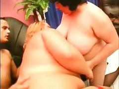 bbw, blowjobs, cumshots, threesomes