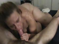 Sucking cock - balls deep