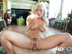 Hd pov hot slutty blonde with big tits wants to fuck your cock hard