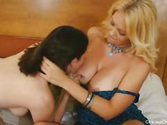 Hot busty milf charlee chase licks sweet pussy