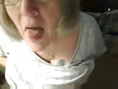 Horny fuckable grandma having fun on webcam