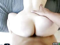 Shesnew phat ass pale redhead rose red loves bigcock