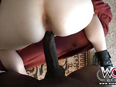Wcp club skinny blonde bitch is an interracial bbc first timer