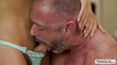 Ts nurse chanel santini loves giving a hearty blowjob