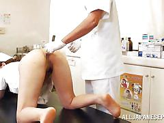threesome, nurse, japanese anal, japanese doctor, japanese blowjob, anal insertion, operation table, japanese babe, anal nippon, all japanese pass