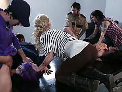 lesbians, orgy, face sitting, group sex, babes, tattooed, zombie, shooting, burning angel, larkin love, tommy pistol, arabelle raphael, danny wylde, wolf hudson, joanna angel, kleio valentien