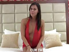 You need to know what your own cum tastes like cei