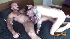 amateur, bareback, bear, blowjob, cumshot, hardcore, gay