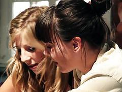 Bskow sexy lesbian action with dana dearmond a...