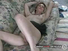 Horny canadian housewife fingering wet slutty hole