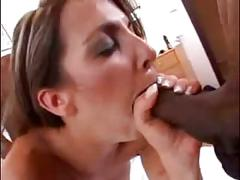 Classy young wife fucks black dudes
