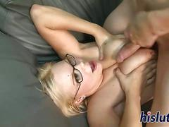 Slutty mature blonde is a great lay
