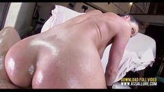 Big ass babe gets to be fucked so fucking hard