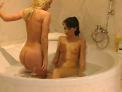 Silvia saint and suzie diamond hostel lesbians couple