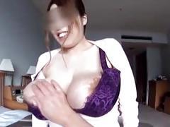 Busty japanese kaori tittyfuck