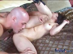 Kaiya had hardcore sex with her well hung man