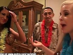 Hawaiian whore fest