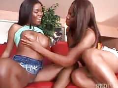Three lesbian