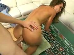 Hot anal with facial