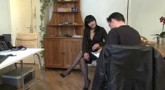 Hot euro asian milf jade banging