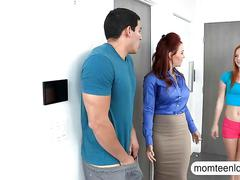 Janet mason and alex tanner crazy threesome action