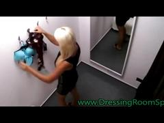 amateur, blonde, teenager, young, voyeur, spy, spy cam, spycamhidden, hiddencam, caught, naked, changing, undressing, dressing room