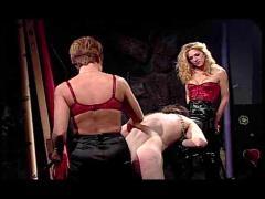 Femdom group spanking