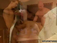 Mitch fucks twinks jordan and robbie