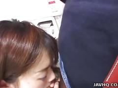 Adorable teen misa kashiwagi loves hard cocks