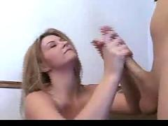 Sara stone - handjob