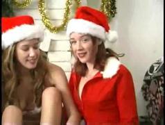 Frankies angels lesbian group christmas - sienna, jade marx, adara star & tasha