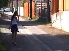 Cheerleader caught