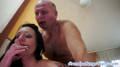 Arresting slut is in need to taste and blow that big member and receive it between her legs in different poses from this hunk