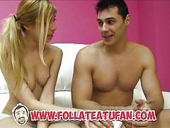 Puta locura spanish amateur couple first time on film